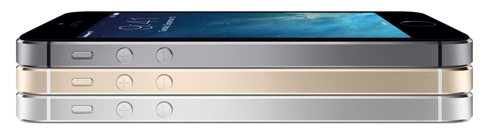 iPhone 5S - Fonte/Reprodução: Apple