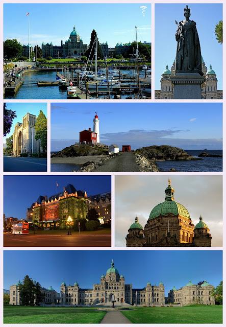 visite de Victoria Canada