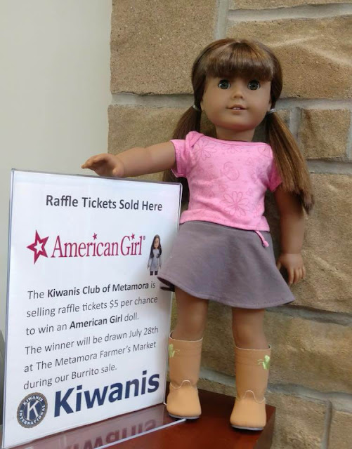 Kiwanis auctioning off American Girl Doll, Metamora Herald
