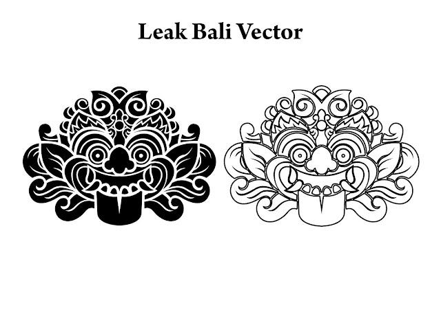 Download Leak Bali Vector CorelDraw CDR HD & PNG