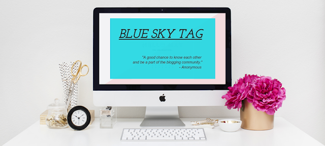 My Blue Sky Tag By Blogger Haslina