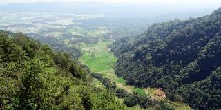 Desa Wisata Sepakung dari atas bukit
