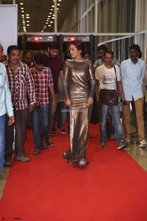 Actress Catherine Tresa in Golden Skin Tight Backless Gown at Gautam Nanda music launchi ~ Exclusive Celebrities Galleries 119.JPG