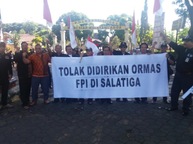 Menyusul Semarang, Berbagai Elemen Masyarakat Kota Salatiga Tolak FPI