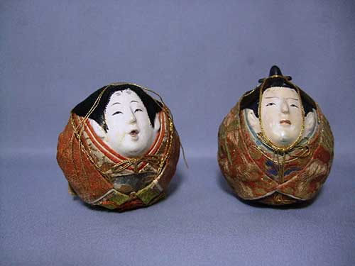 Kimekomi dolls treasured by Empress Shôken, Consort of Emperor Meiji (Ikeman Doll Culture Preservation Public Interest Foundation).