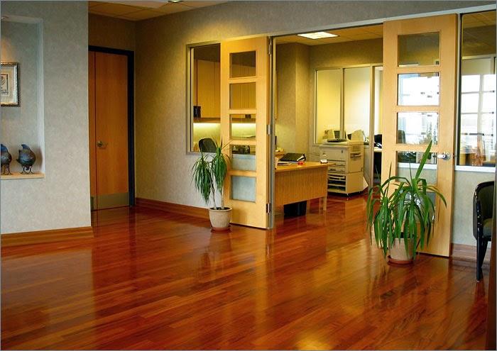 desain lantai kayu minimalis