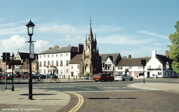 Continuing On Up Henley Street And Turning Left Along Windsor We Come To The Market Place Gothic Monument Is Called American Fountain
