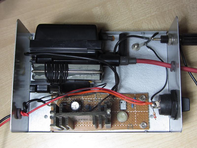 Buxtronix: Portable high voltage supply