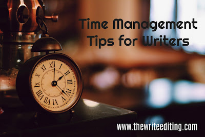 Time Management Tips for Writers
