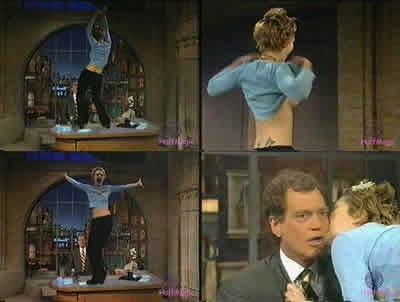 Drew barrymore flashes dave letterman - 2 part 8