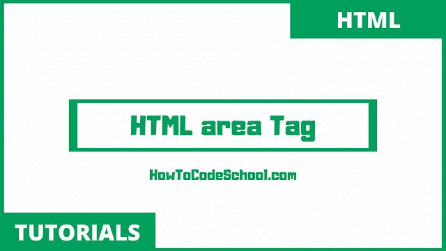 HTML area Tag