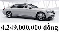 Giá xe Mercedes S450 L 2018