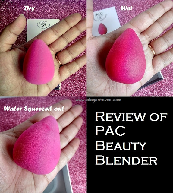 Review of PAC Beauty Blender
