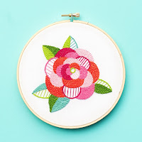 Beginner Rose pattern by Lolli and Grace as featured by floresita on Feeling Stitchy