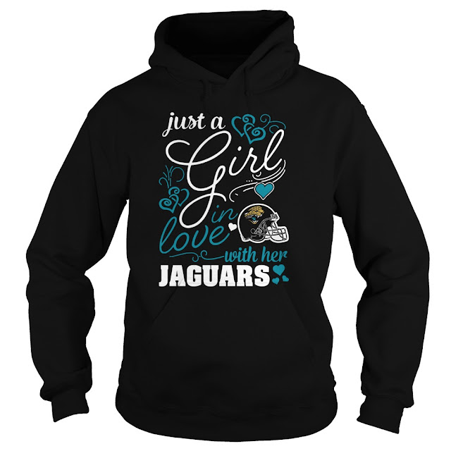Jacksonville Jaguars - Just A Girl In Love With Her Shirt