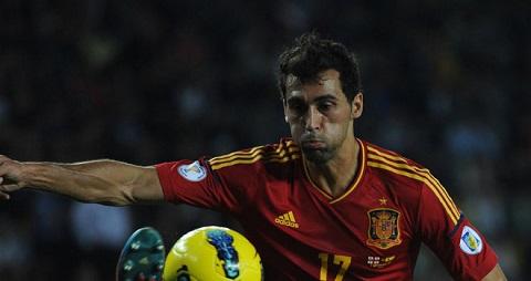 Hậu vệ phải của tuyển Real Madrid đã mất suất thi đấu ở ĐT Tây Ban Nha