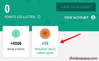 Bonus Points click karke hasil Kare