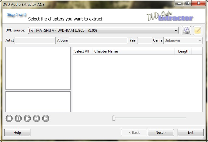 serial dvd audio extractor 7.1.2