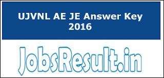UJVNL AE JE Answer Key 2016