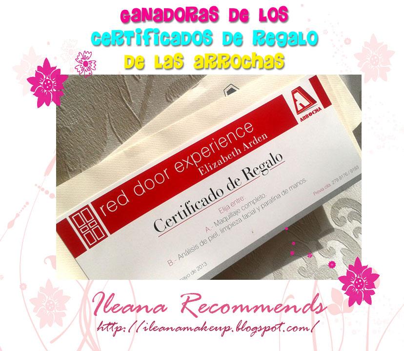Ganadoras de los certificados de regalo de las Arrochas (solo Panamá