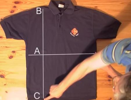 Πώς να διπλώσετε ένα πουκάμισο σε μόλις 2 δευτερόλεπτα