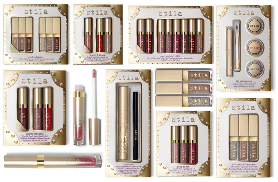 Stila Christmas Gift Sets 2017