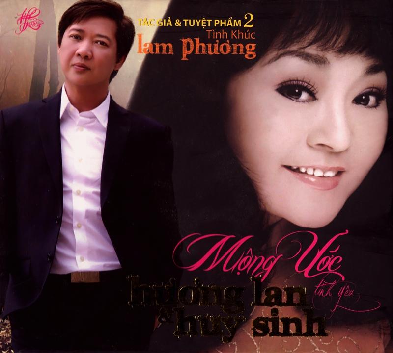Hương Lan CD - Hương Lan, Huy Sinh - Mộng Ước Tình Yêu (NRG) + bìa scan mới