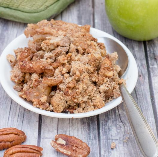Grain-Free Apple Crisp #diet #healthyrecipe