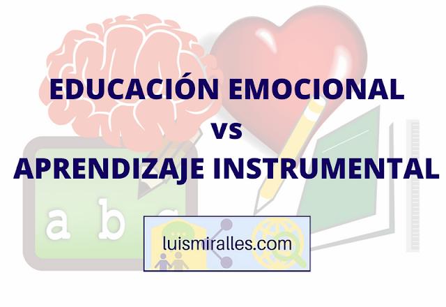 educacion emocional o aprendizaje instrumental