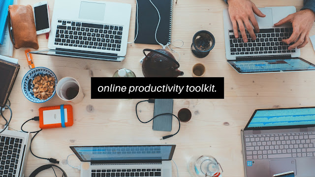 My Online Productivity Toolkit // Printables, Apps and More