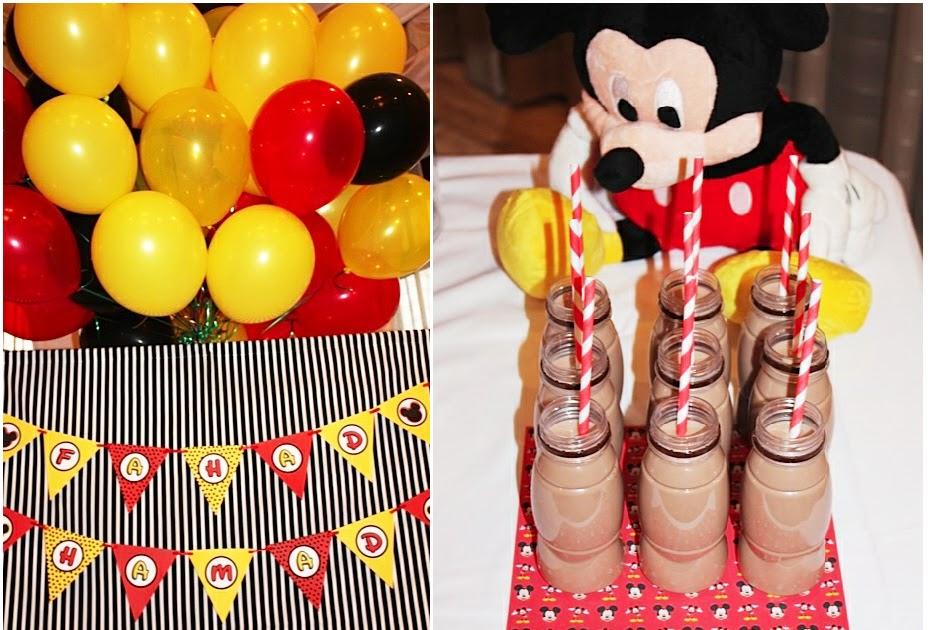 A Retro Mickey Inspired Birthday Party Party Ideas