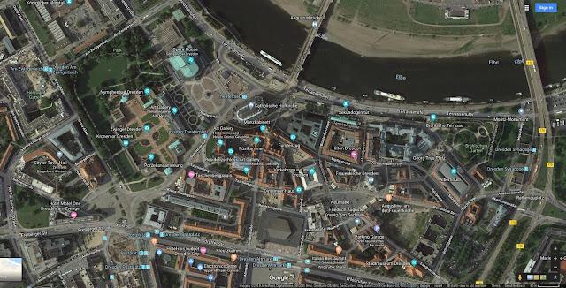 מרכז דרזדן - מפות גוגל