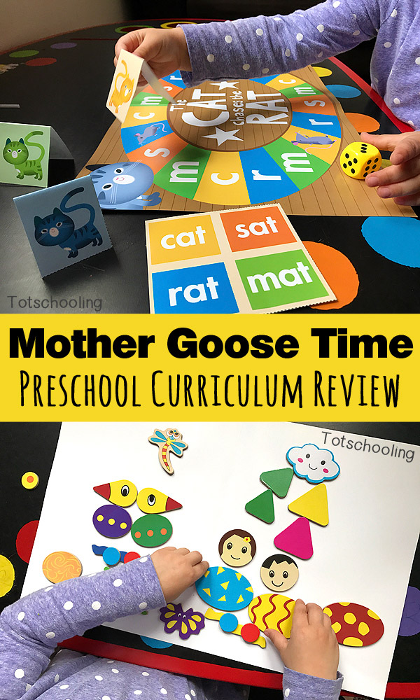 Review of Mother Goose Time preschool curriculum which is an all-inclusive, low-prep monthly program that is conveniently delivered in a fun box full of hands-on learning and discovery.