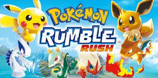 Pokémon Rumble Rush - Faça já o download