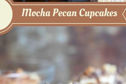Mocha Pecan Cupcakes