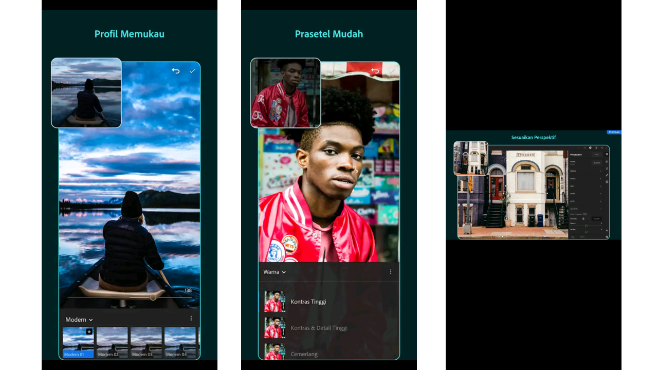 adobe photoshop lightroom: aplikasi edit foto android terlengkap
