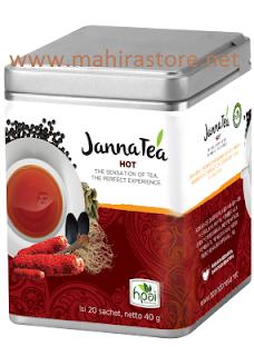 Teh Herbal JannaTea Hot