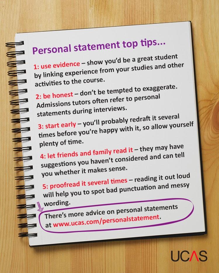 Ten places to get personal statement pointers Undergraduate UCAS
