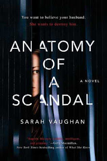 Anatomy of a Scandal, Sarah Vaughan, Book Scoop, InToriLex