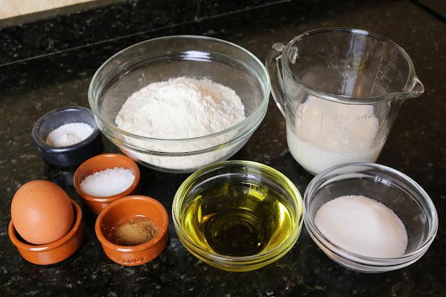 Ingredientes para papajotes