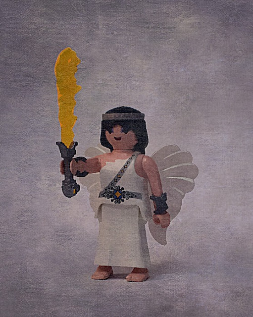 Playmobil custom Ancient Greece figures