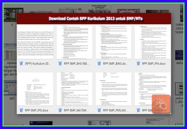 Download Kumpulan RPP Lengkap Dalam Satu File Gratis