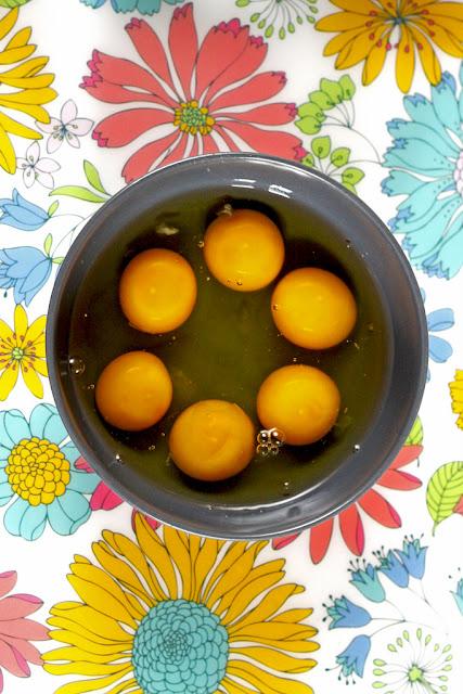 Jajecznica z kabanosem