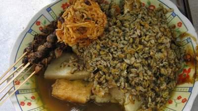 kupang lontong, sate kerang, lento, makanan khas jawa timur, surabaya, sidoarjo, pasuruan