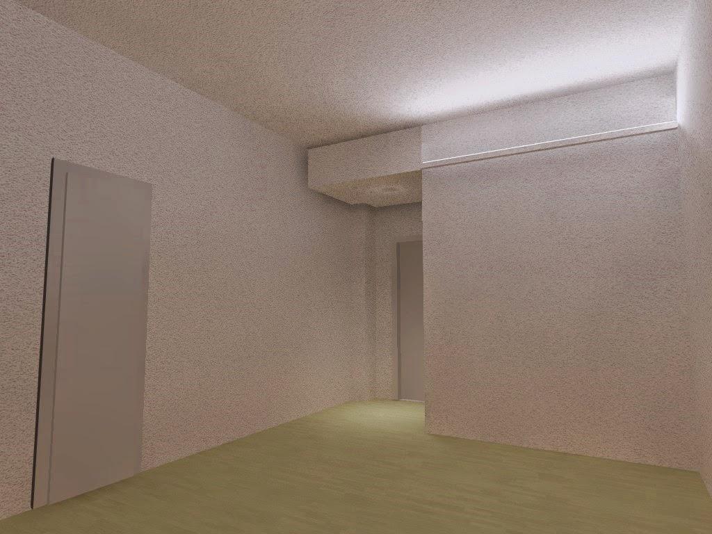 Illuminazione corridoio led : Illuminazione led casa: torino - ristrutturando un appartamento