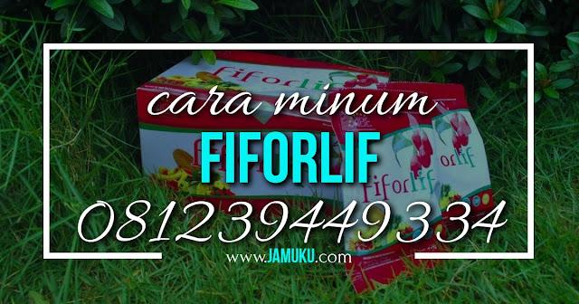 cara minum fiforlif bagi penderita maag
