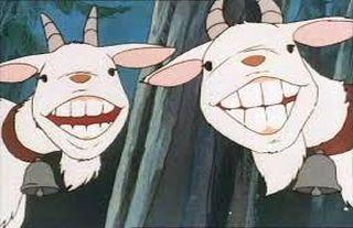 Fábulas: Las cabras y los chivos