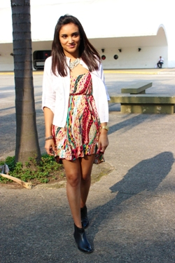 etnico, botas cano curto, camisa branca, max colar, look do dia, blog de moda, estilo pessoal