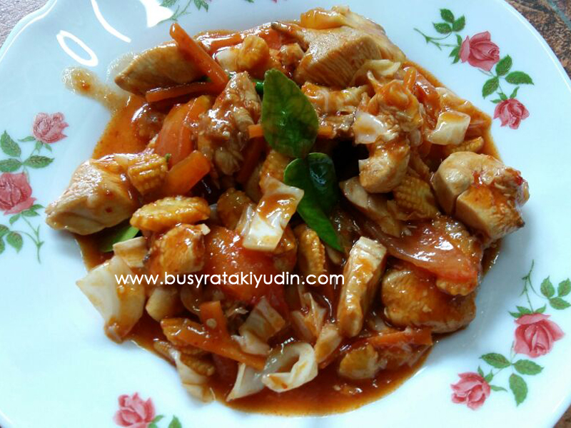 "#FoodWritingChallenge - Day 6: Best Recipe ""Paprik Ayam"""