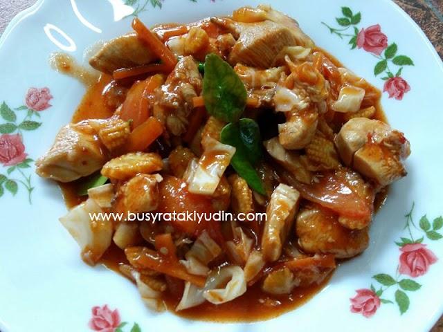 "#FoodWritingChallenge - Day 6: Best Recipe ""Paprik Ayam"""